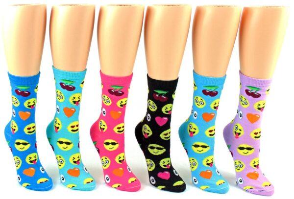 Emoji socks Women