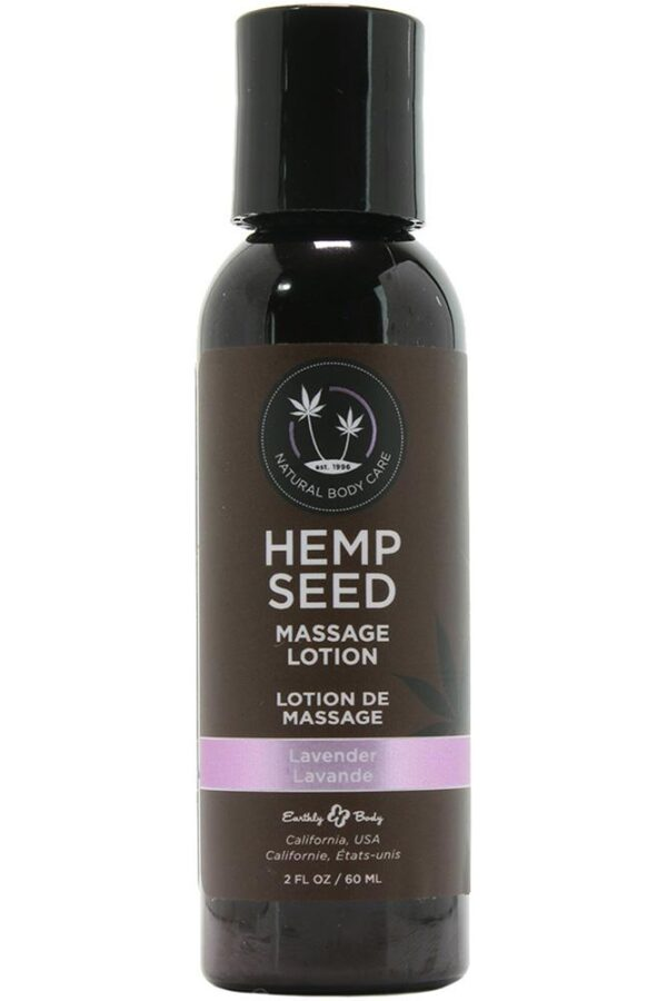 Hemp seed massage lotion